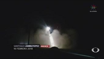 Imágenes del desplome de helicóptero que dejó 13 muertos en Oaxaca
