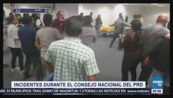Incidentes Durante Consejo Nacional Prd