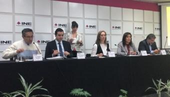 ine confirma candidatos independientes diputados senadores y presidencia