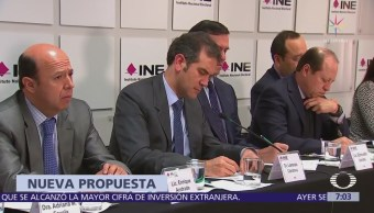 INE presenta nueva propuesta para conteo rápido de elección presidencial