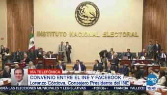 INE suscribirá convenio con Google y Twitter