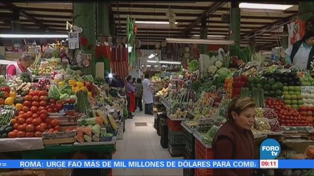 Inflación en México está en 5.55% anual: INEGI