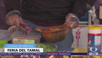 Inicia Feria del Tamal en la explanada de la delegación Venustiano Carranza