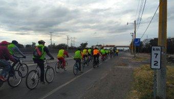 Inicia paso de peregrinaciones de ciclistas de Guanajuato