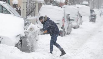 frio y nieveo provocan dos muertos en rumania