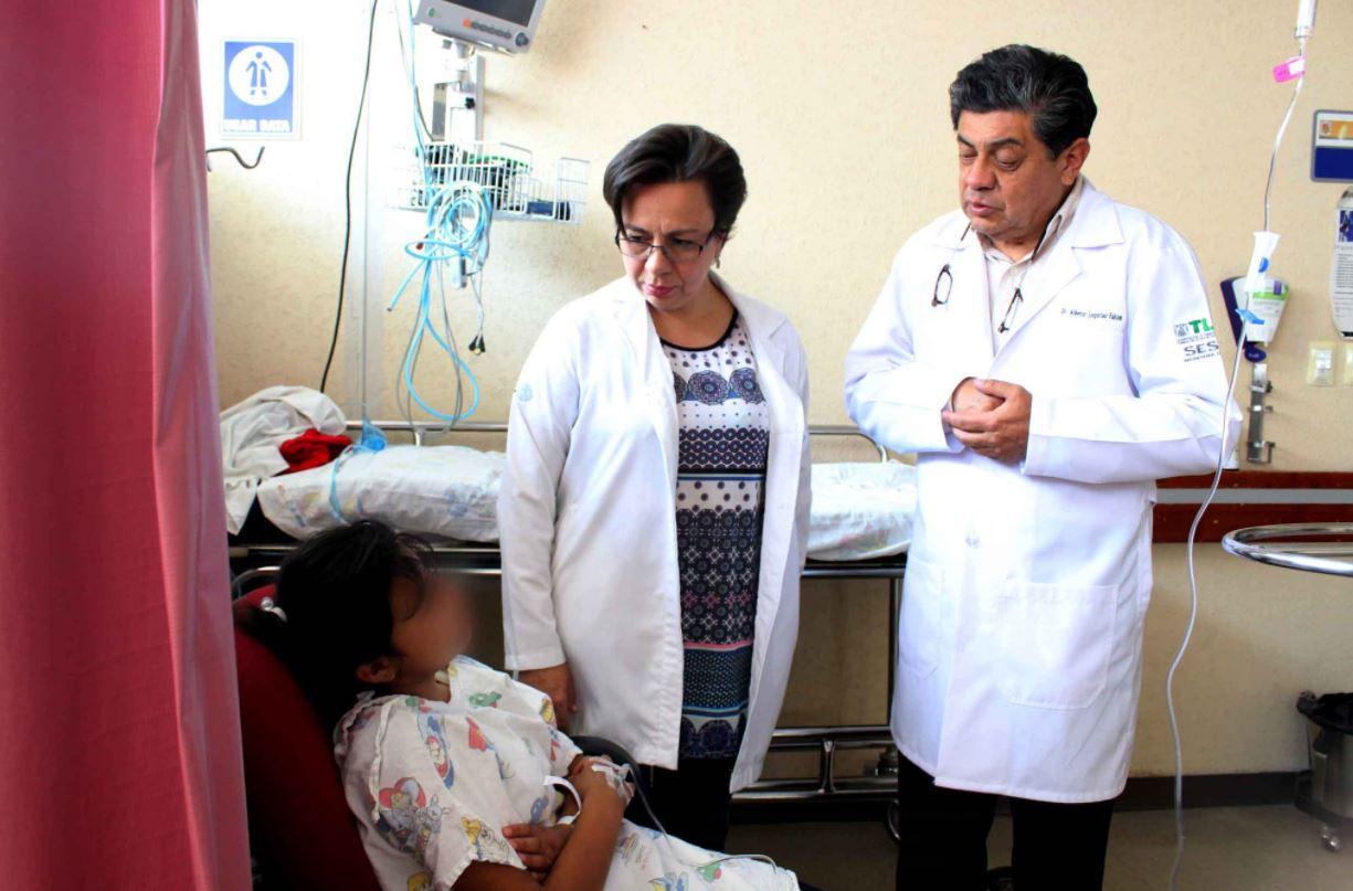 Se intoxican 62 niños tras comer alimentos en mal estado