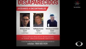 Familiares de italianos desaparecidos afirman que la Policía negó haberlos detenido