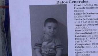 Autoridades siguen sin pistas para localizar al niño James Martín