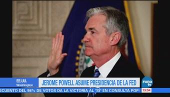 Jerome Powell Asume Presidencia Reserva Federal
