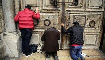Alcalde de Jerusalén suspende plan para recaudar impuestos de iglesias