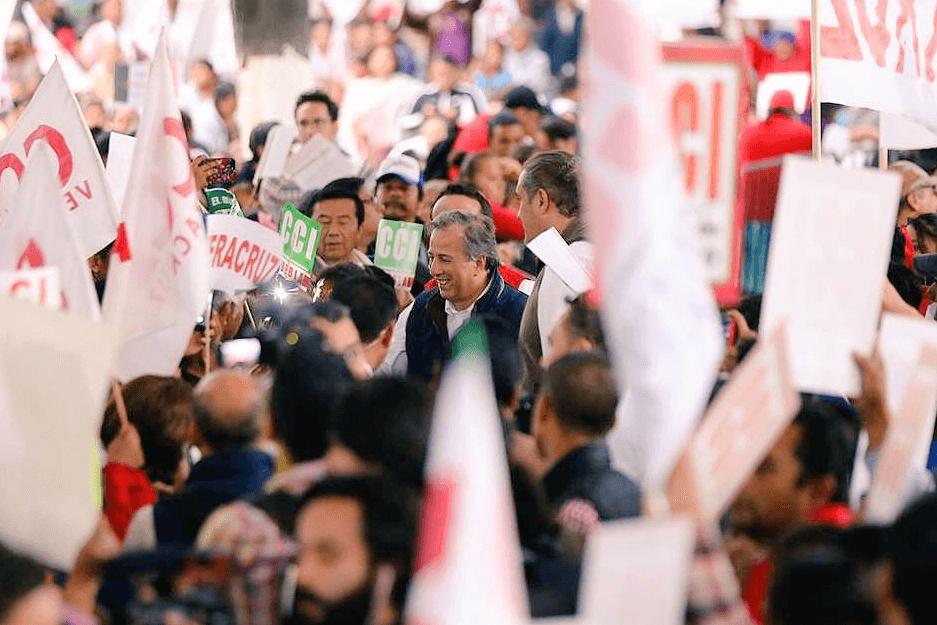 Meade se compromete a desarrollar Oaxaca por medio del diálogo