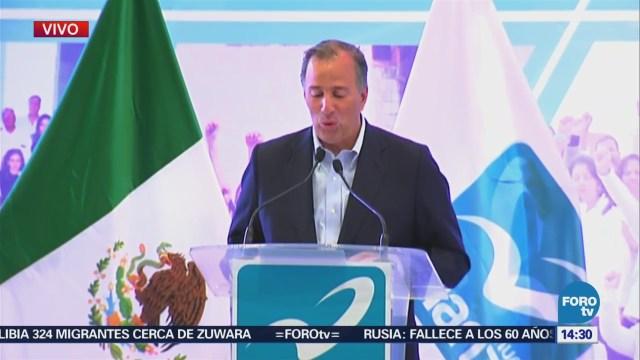 José Antonio Meade Rinde Protesta Candidato Nueva Alianza