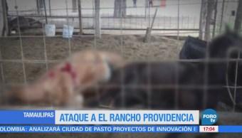 Atacan Rancho Providencia Tamaulipas Atacado El Rancho Providencia