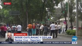 Registran Bloqueos Cuitláhuac Ceylán