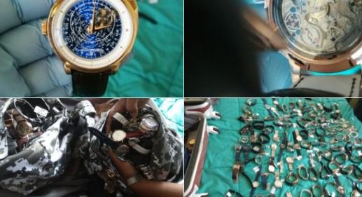 Suman 17 detenidos por el robo a una joyería en Uruguay