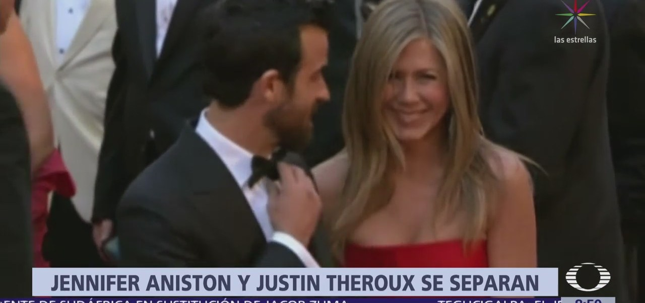 La actriz Jennifer Aniston se divorcia