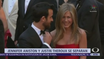 La actriz Jennifer Aniston se divorcia