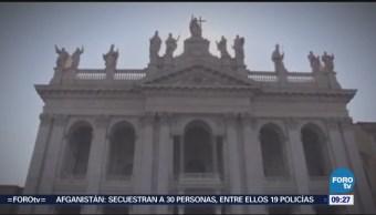 La catedral de San Juan de Letrán en Roma