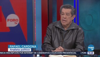 La mesa política con Rafael Cardona