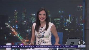 Las noticias, con Danielle Dithurbide: Programa del 15 de febrero del 2018