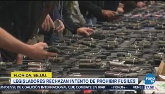 Legisladores Bloquean Intento Prohibir Fusiles Asalto Florida