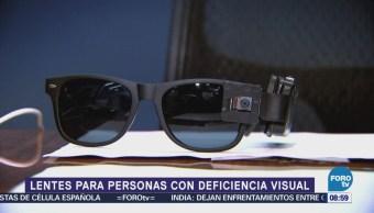 Lentes para personas con deficiencia visual