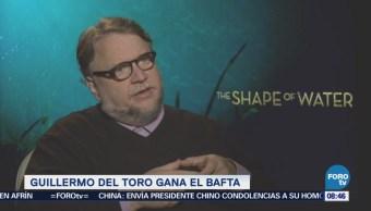 #LoEspectaculardeME: Gana Guillermo del Toro Premio Bafta como mejor director