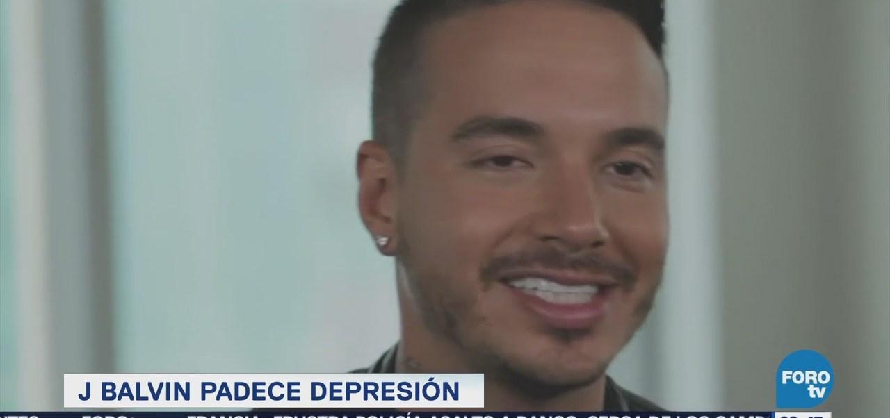 J. Balvin padece depresión