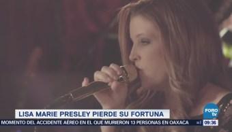 #LoEspectaculardeME: Lisa Marie Presley pierde su fortuna