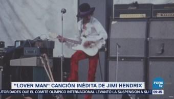 #LoEspectaculardeME: 'Lover man', canción inédita de Jimi Hendrix