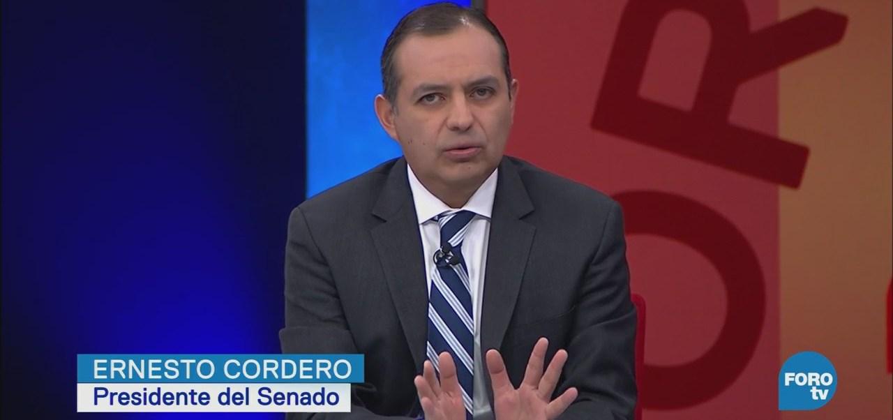 Los Alebrijes entrevistan a Ernesto Cordero, presidente del Senado