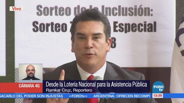Lotería Nacional y DIF firman convenio de inclusión