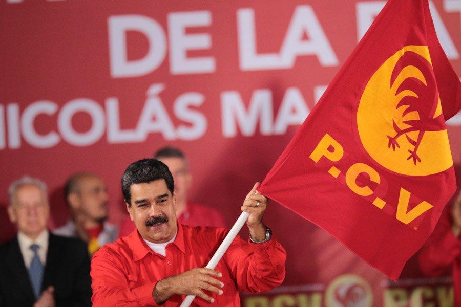 Maduro candidato, entre reguetón y promesa de