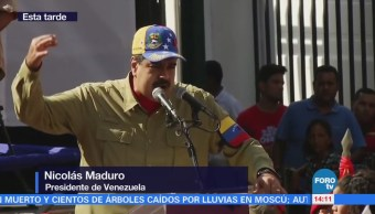 Maduro conmemora el día de la Dignidad Nacional en Venezuela