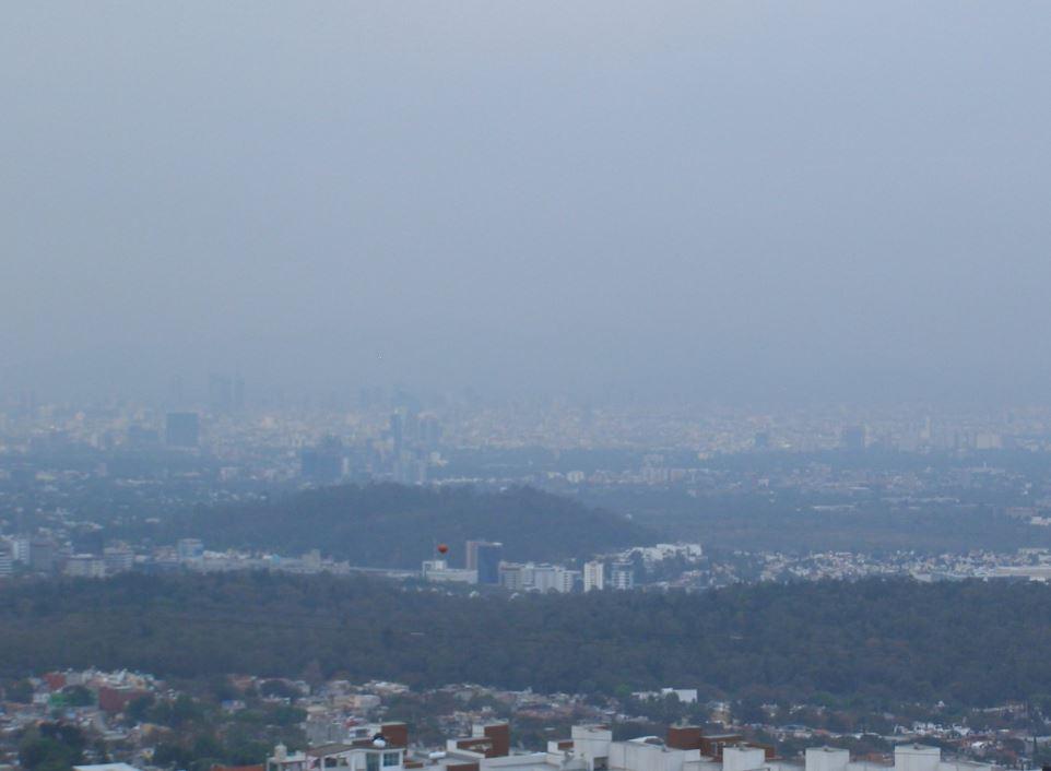 Zona noreste y centro del Valle de México presentan mala calidad del aire