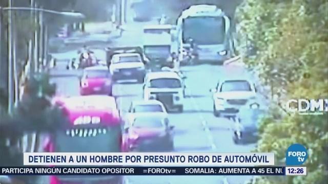 Mancera Anuncia Detención Sujeto Robo Vehículo