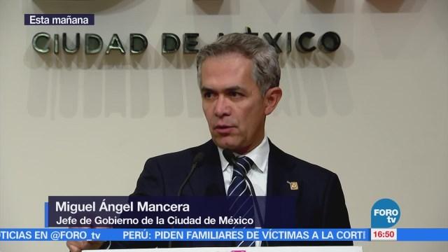 Mancera Descarta Crisis Secretaría Seguridad Pública Cdmx