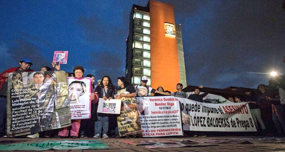 protestan para exigir el esclarecimiento del caso de marco antonio sanchez