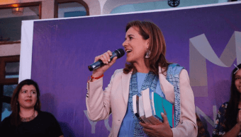 Margarita Zavala presume apoyo personalidades