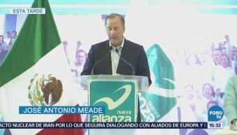 Meade Compromete Tener Candidatura Cercana Gente