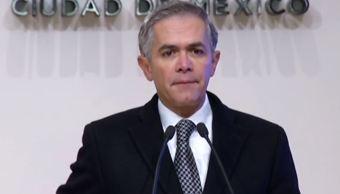 CDMX está dividida en dos fuerzas políticas de izquierda, señala Mancera