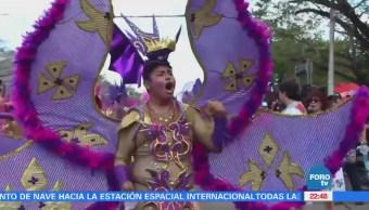 Miles celebraron el carnaval en Mérida