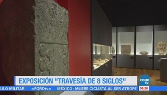 Montan la exposición 'Travesía de 8 siglos'