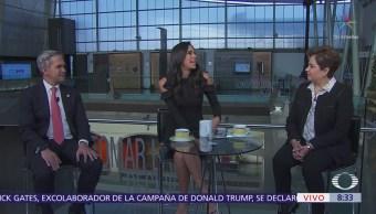 Mancera y Patricia Espinosa hablan de los objetivos de la cumbre C40