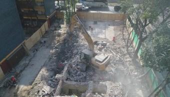 concluye demolicion edificio 1c multifamiliar tlalpan que colapso 19s