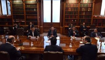 Segob analiza con ocho partidos tema de seguridad por proceso electoral