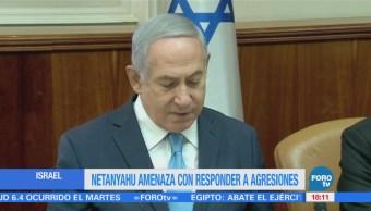 Netanyahu habla sobre bombardeos en Siria