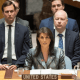 Nikki Haley, embajadora de Estados Unidos ante la ONU