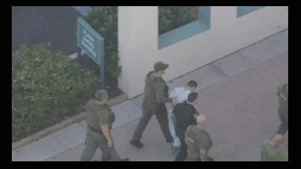 Nikolas Cruz fue arrestado luego del tiroteo en la escuela de Florida