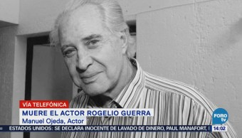 Rogelio Guerra luchó mucho tiempo con una terrible enfermedad: Manuel Ojeda